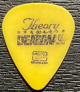 THEORY OF A DEADMAN #2 TOUR GUITAR PICK