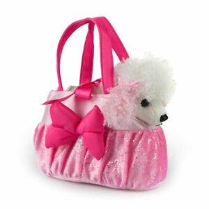 Poodle Fancy Pals Plush Stuffed Soft Toy Dog 18cm By Korimco