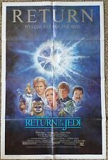 Original Return of the Jedi-1985 One Sheet Movie Poster