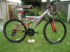 REEBOK NEVARDA MOUNTAIN BIKE ALUMINIUM  Y- FRAME FULL SUSPENSION MEN,S OR LADIES