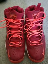 Nike Air Pippen 1 Basketball Shoe Size 9.5 (2013) Atomic Noble Red