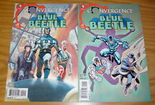 Convergence Blue Beetle #1-2 VF/NM complete series - the question - captain atom