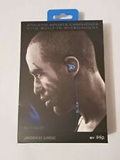 iHip Blue Jagged Edge Sport Ear Buds [New Headphone] Blue, With Microp