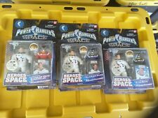 Power Rangers Hero's In Space All Three