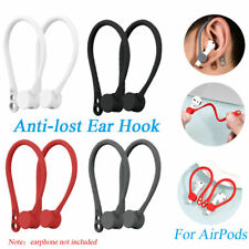 KM_ 1Pair Strap Holder Wireless Ear Hooks for Apple AirPods Earphone Earbuds Ear
