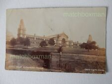 ALEXANDRA PALACE SOUTH FRONT LONDON REAL-PHOTOGRAPH POSTCARD POSTMARK 1905 MFM24