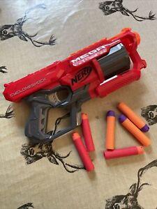 nerf Gun mega cycloneshock With Darts