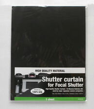 Japan Hobby Tool Shutter Curtain For Focal Plane Shutter 220mm X 300mm X 0.2mm