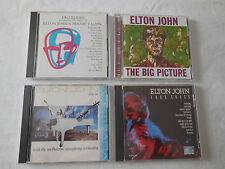 Elton John 4 CD Lot - Your Songs, Two Rooms, The Big Picture & Live In Australia