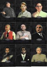 JAMES BOND 40th Anniversary - VILLAINS  - 19 Foil Chase Cards #BV1 - #BV19