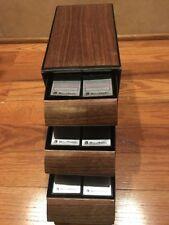 Lot Of 18 Bell & Howell Slide Cube Cartridges & Storage Box