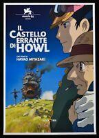 Manifesto El Castillo Errante Por Howl Hayao Miyazaki Animación Ghibli Cine P05