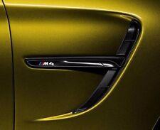 Genuine BMW M4 F82 F83 Performance High gloss black Side Grilles Vent Trim SET