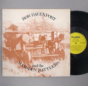 """Bob Davenport & The Marsden Rattlers - NM - UK 12"""" Vinyl - LER 3008"""