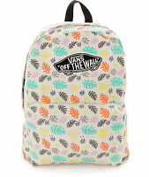 VANS REALM PALM PHOTO BACKPACK 100% AUTHENTIC MSRP $35-  NEW w/TAG!!