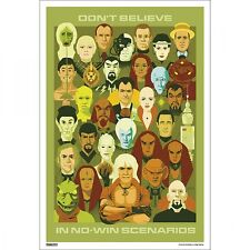 STAR TREK-DONT BELIEVE IN 24X36 POSTER MOVIE TV SHOW WALL ART DECOR FANTASY COOL