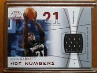 2003-04 Flair Final Edition Hot Numbers Jerseys Pewter #83/175 Kevin Garnett