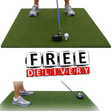 "Golf Tee Mat 36x60"" Thicker Practice Trainer Nylon Rubber Turf Fairway Green New"