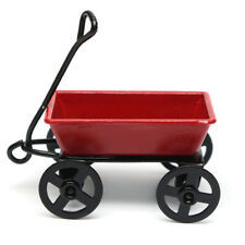 Miniature Toy Dollhouse Pulling Cart Home Decor Garden Furniture Gift Ornament