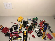 HUGE Vintage Power Rangers Toy Bandai Mixed Lot Megazord Figures 'As Is' READ 1C