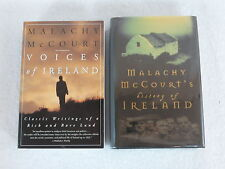 Lot of 2 Malachy McCourt VOICES OF & HISTORY OF IRELAND Running Press