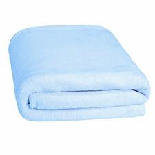 Tagesdecke Schlafdecke Kuscheldecke Felloptik Bettüberwurf 150x200cm blau neu