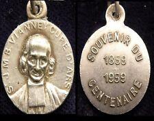 Médaille CURE D'ARS en Métal Argent