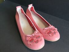 NEW PINK LUCI LU LEATHER COMFORT SHOES SIZE 42