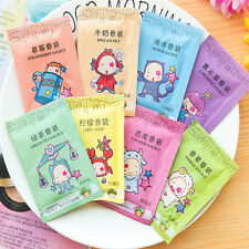 10Pcs Flower Fragrance Drawer Wardrobe Home Scented Sachets Bag Toilet Air Fresh