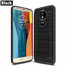 For Motorola Moto G6 Play Carbon Fibre Gel Case Cover Shockproof Ultra Slim