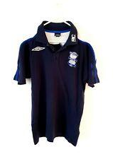 Birmingham City Polo Shirt. Small. Umbro. Blue Adults Short Sleeves Football Top
