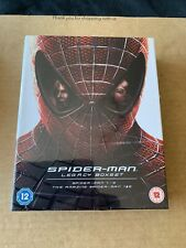 Spider-Man Legacy Boxset - Blu ray Digibook Collection - NEW & SEALED 0054/2000