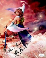 HEDY BURRESS Signed FINAL FANTASY Yuna 8x10 Photo IN PERSON Autograph JSA COA
