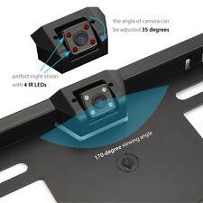 HD Car Reversing Camera Rear View Parking Plate Night Vision IR LEDs Waterproof