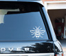 Manchester Bee Vinyl Manc Decal Sticker Car Laptop Proud to be Mancunian WHITE
