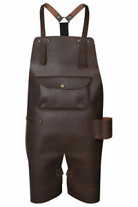 Real Leather Apron  Butcher Apron - Cook Apron - BBQ Apron - Cooking Apron Gift