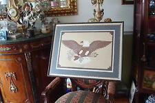"Vintage Roberta Adkins quilt serigraph ""Proud Heritage"" signed 688/2500"