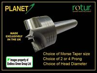 Woodturning Lathe Drive - Choice of Morse Taper MT1 MT2  Head Size  2 or 4 prong