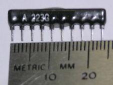 100 22K 2% 10 Pin SIP 9 Resistor Network