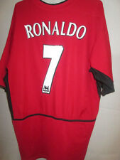 d400550a234 Manchester United 2002-2004 Ronaldo 7 Home Football Shirt Size Large  34073