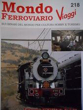 Mondo Ferroviario n°218 L - I Treni Rovos RAIL - FNM in Eritrea -