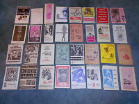LOT OF 33 ORIGINAL PRESSBOOK HERALDS FROM THE 50'S TO 70'S NICE!