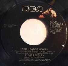 Elvis Presley 45 Hard Headed Woman / Don't Ask Me Why  reissue  VG++
