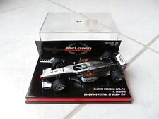 MCLAREN MERCEDES MP4/13 Nick heidfeld Goodwood #1 Minichamps 1/43 1999 F1