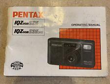 Pentax Iqzoom 835 Operating Manual
