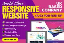Professional 5 pagine reattivo SITO WEB Top Design