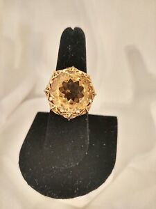 Estate Jewelry 14kt Gold Citrine Ring