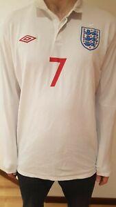 Umbro england home football shirt 2010 Aaron Lennon XL