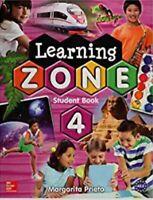 LEARNING ZONE 4 STUDENT BOOK CON CD (SPANISH) BY MARGARITA PRIETO