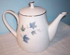 Noritake RC Vintage #618 Teapot & lid Leaves & Grapes Platinum Trim